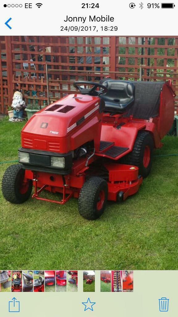 Westwood T1600H Ride On Mower / Garden Tractor / Lawn Mower