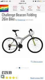 "Challenge Beacon 26"" Folding Bike"