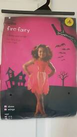 Halloween BN Fire Fairy Age 3-5