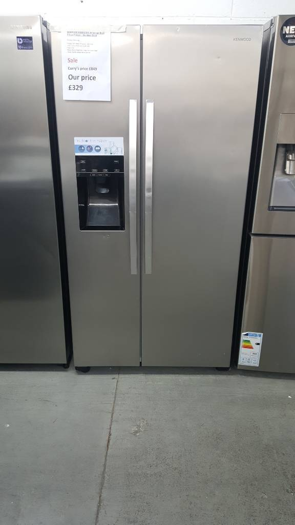 Kenwood KSBSDIX16 American Style Fridge Freezer with warranty