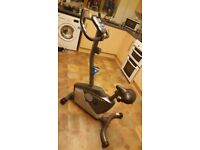 ROGER BLACK PLUS FITNESS MAGNETIC EXERCISE BIKE HARDLY USED GREAT CONDITION
