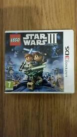 Star Wars lll 3DS Ninetendo