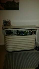 Genuine Antique 70's Drinks bar