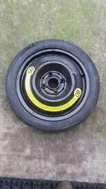 Spare wheel space saver vw/audi/seat