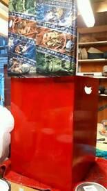 Marvel and ref storage stool box.