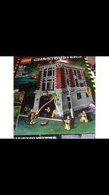 Ghostbusters hq new and sealed Lego