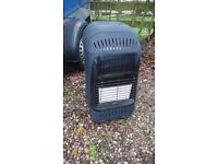 Calor gas heater with regulator