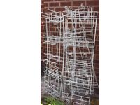 Slat wall euro pegs and same for chro e grid wall job lot or split