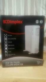 Dimplex 2 KW Electric Oil Filled Column Radiator