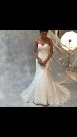 Anna Sorrano * Wed2b * Gabriella wedding dress size 10