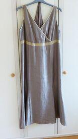 Roman Occasion Dress with shawl