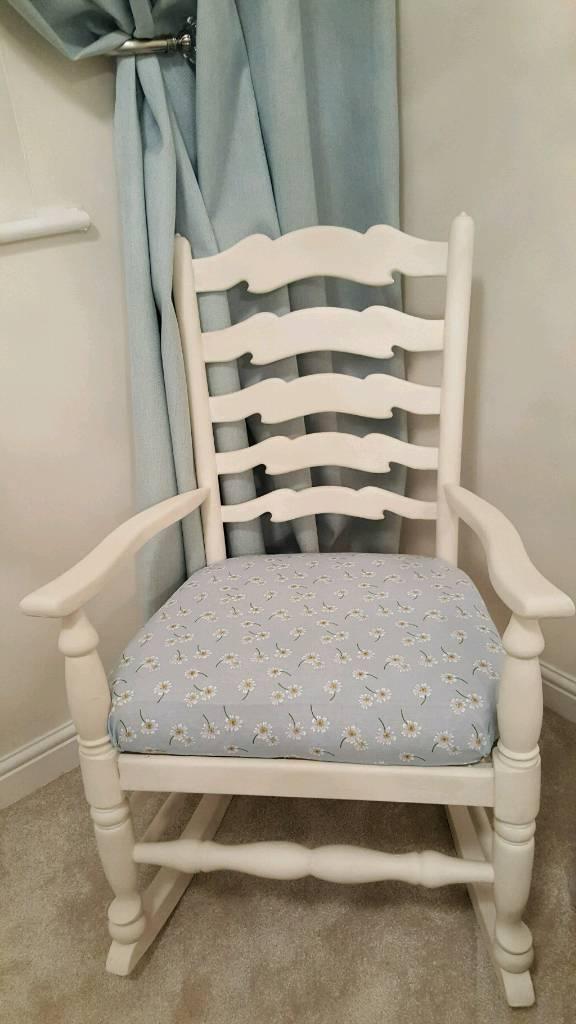 Rocking Chair Shabby Chic
