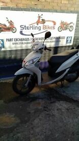 HONDA VISION 110cc 2011 VERY CLEAN AND TIRE UP BIKE FOR £1200