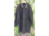 BARACUTA G10 MENS JACKET XL BROWN MADE IN ENGLAND LEATHER COLLAR RRP £450