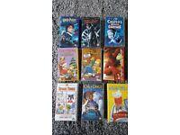 Childrens VHS films