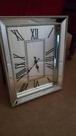 Large mirror clock