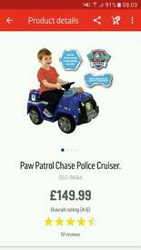 Paw patrol chase police crusier