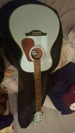 Vintage v300bl guitar
