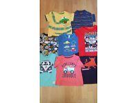 Bundle of Boy's Tshirts 18 - 24 Months
