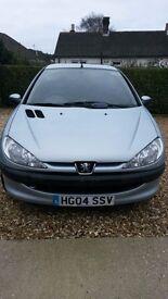 2004 Peugeot 206 1.4 HDI
