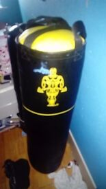 Punching bag (a little bit of paint on it)