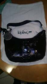 Genuine Kipling Club Leather Handbag