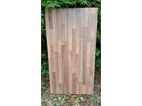 Kitchen blocked oak laminate worktop various sizes