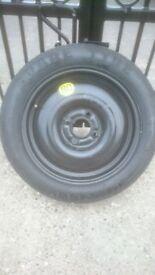 Ford Fiesta Spare Wheel/Tyre