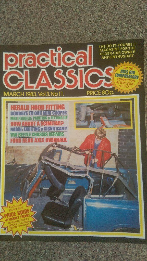 PRACTICAL CLASSIC MAGAZINES and MODEL ENGINEERING MAGAZINES 1960s ...