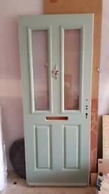 Composite new front door