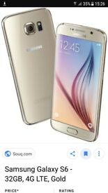 SAMSUNG GALAXY S6 IN EXCELLENT CONDITION
