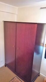 Stag minstrel furniture. Chest of drawers, TV stand, wardrobe. Good condition for age