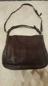 Ladies Crew Clothing leather handbag