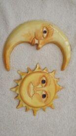 Wall Art - Sun & Moon