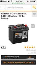 Car battery HCB005