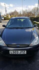 Ford Focus 1.6 SPAIRS OR REPAIRS!!