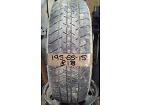 195-65-15 Hero 91H 5mm Part Worn Tyre