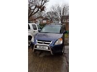 Honda crv petrol in blue. Nice runner . 112k on clock. Tidy inside. Mot til Nov.
