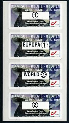 [125452] Belgium good set of stamps very fine adhesive