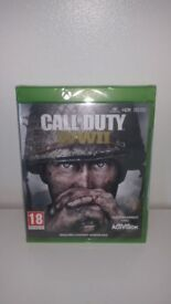 CALL OF DUTY WW11 XBOX ONE NEW SEALED IN PACK