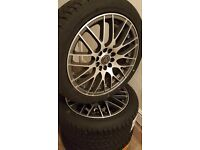 4 x WOLFRACE EURO SPORT Brand New Multi Fit 17 inch alloys with Brand New Fitted Tyres 215x45x17