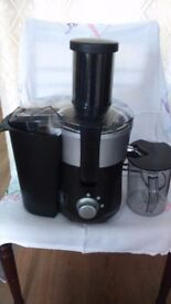 Cookworks whole fruit Juicer.