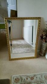 Lovely large John lewis mirror with wire