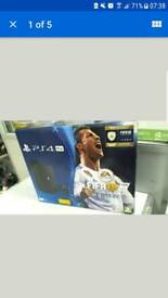 Ps4 pro 1tb with fifa on disc