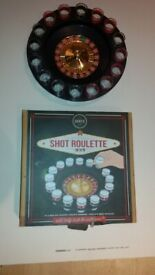 Roulette wheel drinking game