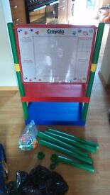 Crayola Adjustable Height Whiteboard with Magnetic Numbers