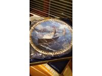 Queen of the seas plate