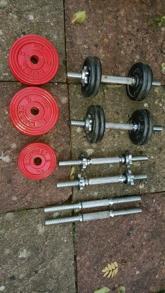 Set of dumbbells weight Gym set