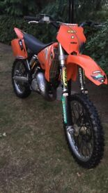 2003 Ktm 125sx. £1350.ono. May swap for car.