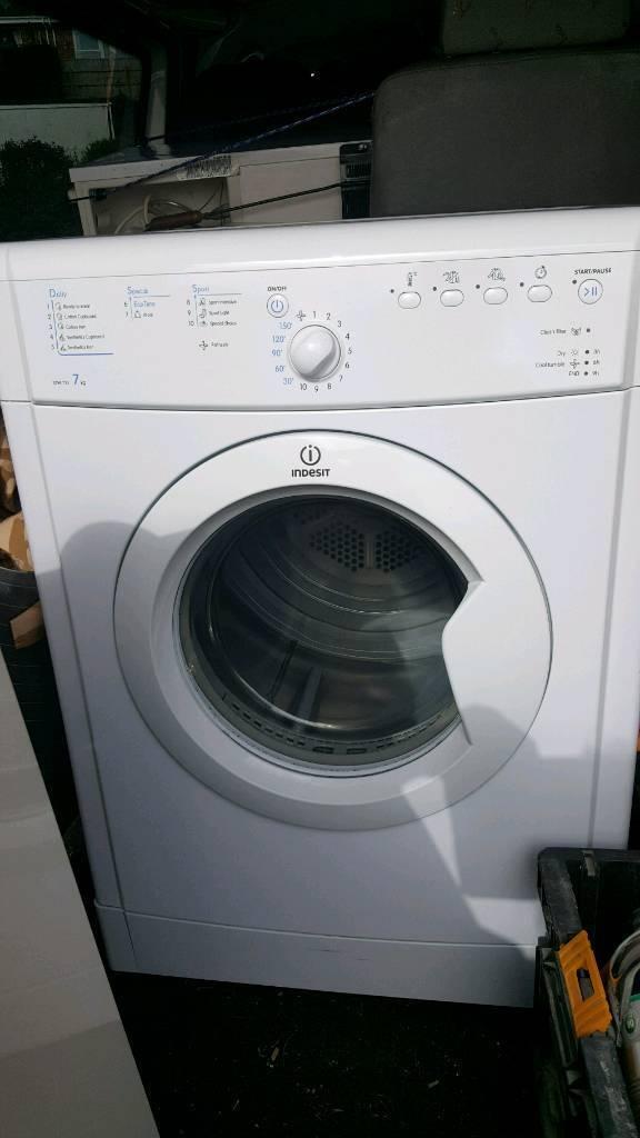 Indesit 7kg tumble dryer